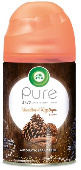 Air Wick Automatic Spray - Pure Woodland Mystique 5.89 oz